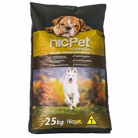 Ração Premium Cães Adultos Nic Pet - 25 Kg