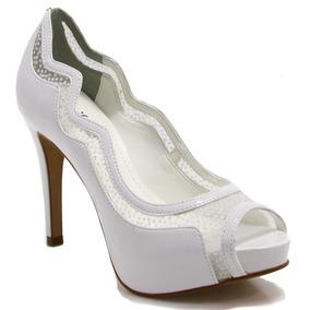 355476558 Sapato Colombo Shoes Feminino Peep Toe Outras Marcas - Sapatos no ...