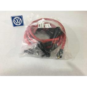 Cables Taylor 10mm De Silicon Color Rojo Para Vocho.