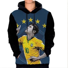 40ab186112 Casaco Do Neymar - Moletom Masculinas no Mercado Livre Brasil