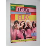 Dvd Louco Por Elas 3 Discos 18 Episodios Serie Globo Novela