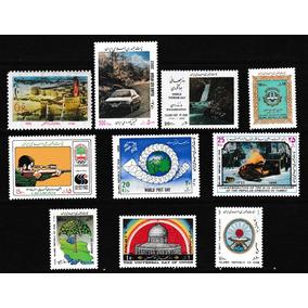 Selos Irã Lote De Selos Comemorativos Temáticos Novos Mint