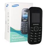Celular Samsung Keystone 2 E1205l Preto 1 Chip Novo