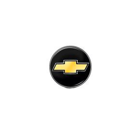 Emblema Adesivo Gm Chaveiro Preto 82163