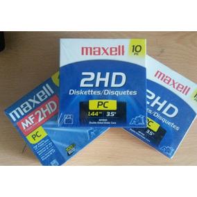 Cajas De Diskette 3.5