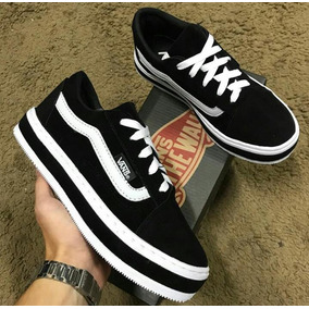 650b3be3bd7 Vans Authentic Preto Plataforma Calcados Roupas E Bolsas No