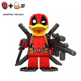 Figura Compatible Con Lego De Deadpool Duck