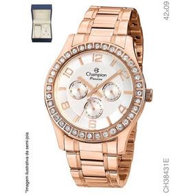 ff4200d4647 Relogios Femininos Dourados Champion Rose Feminino - Relógios De ...