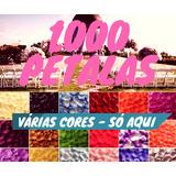 1000 Pétalas Rosas Flor Artificiais Seda Várias Cores Decora