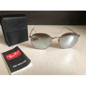 cc675d13b60eb Ray Ban Round Dobrável Espelhado - Óculos no Mercado Livre Brasil