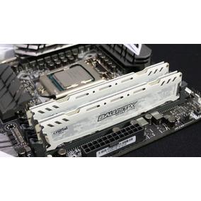 Memoria Ram Crucial Ballistix Ddr4 2x4gb 2400 Mhz 8gb Kit