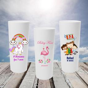 30 Copos Long Drink Personalizados Colorido - Promoção