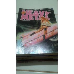 Lote 19 Revistas - Heavy Metal Edição Brasileira + Druuna