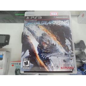 Metal Gear Rising Revengeance Ps3 Usado