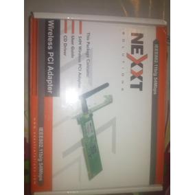 Wireless Nexxt Pci Adapter 11b/g 54mbps