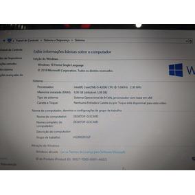 Notebook Acer I5 4 Geração 6 Gb Memória Ram