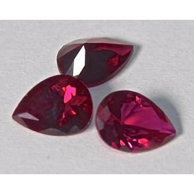 Rsp 3159 Rubi Sangue Pombo Pera 8x6mm Preço Pedra 1,3 Ct