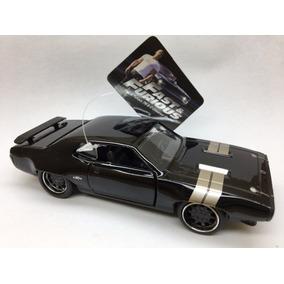 Miniatura Plymoutg Gtx-pul Back Velozes E Furiosos 1972