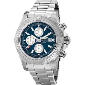 cd91cbc2b6f Relógio Breitling Fundo Azul - Relógios no Mercado Livre Brasil