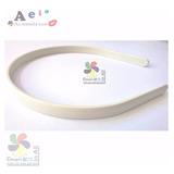 Tiara Plástico Arco 10mm 50 Un Branca Montagem Encapa Aeio@