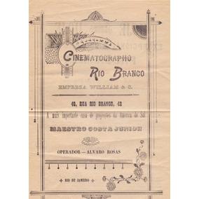Cinema - Cinematógrafo Rio Branco - 30031821