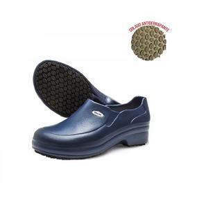 Sapato Azul Marinho Para Hospital Enfermagem - Sapatos no Mercado ... 56f25b275c
