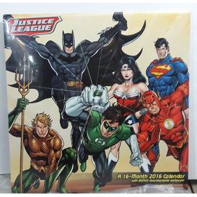 Calendario 2016 Justice League Loja De Coleções