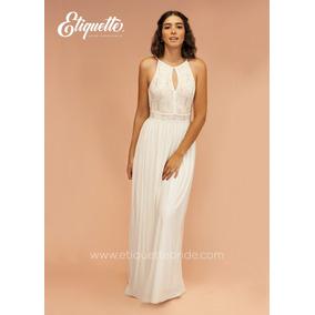 18f4a9cda Precio. Publicidad. Vestido Blanco Para Boda Civil Novia Económico Bonito