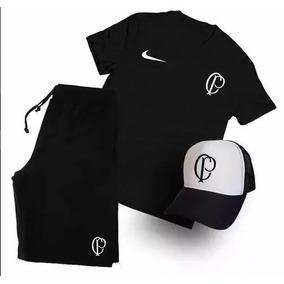 Bermuda Torcida Corinthians - Camisetas e Blusas no Mercado Livre Brasil 49fcb3ee41cfc