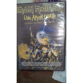 Dvd Iron Maiden -live After Death (perfeito Estado)