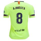 Camisa Barcelona 8 Iniesta - Camisas de Futebol no Mercado Livre Brasil 7d2f9ba0a842a