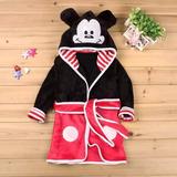 da859228cc Roupao Infantil Capuz Mickey no Mercado Livre Brasil