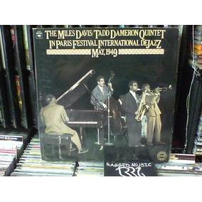 Miles Davis Tadd Dameron Quintet Paris Festival Jazz Lp