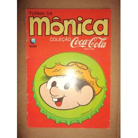 Turma Da Monica Coleção Coca Cola 3 Editora Globo 1990 Otima