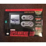 Super Nintendo Mini Nuevo Original Con 200 Juegos De Regalo