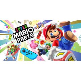 Jogo Super Mario Party Nintendo Switch Fisica Lacrado