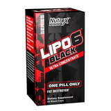 Nutrex Lipo 6 Black 60 Black-caps - Original Importado