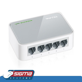 Switch Tp-link 5 Puertos 10/100 Mbps Tl-sf1005d