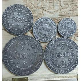 Lote De Moedas Patacão Mais 500 Reis 1932 E 1000 Deis 1932
