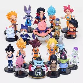 Kit 20 Dragon Ball Boneco Action Figures Goku P Entrega S032