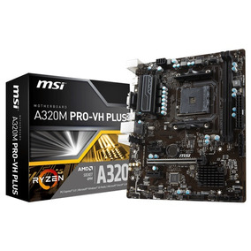 Motherboard Msi A320m Pro-vh Plus Am4