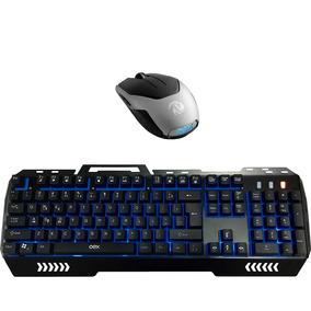 Kit Teclado Gamer Fusion Tc204 + Mouse Gamer Blaze 6 Ms311