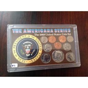 Coleção De Moedas The Americana Series 1968.