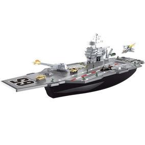 Barco Portaaviones Grande Nuevo Juego Juguete Varon Guerra