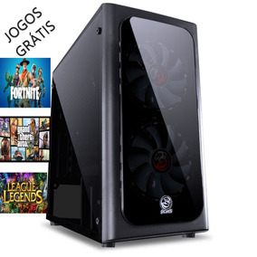 Pc Game Hd 2 Tb 16 Gb Ram Placa Vid Geforce Gt 1030 + Jogos
