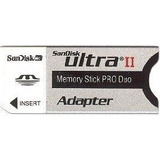 Adaptador Sandisk Ultra Ii Memory Stick Pro Duo