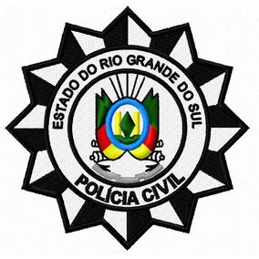 Patch Bordado Polícia Civil - Rs_90x90