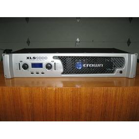 Amplificador De Potência (força) Crown Xls 1000