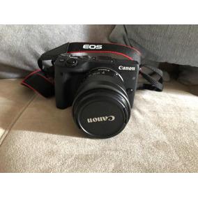 Câmera Fotográfica Canon Eos M3 Lente 18-55mm + 32 Gb E Bols