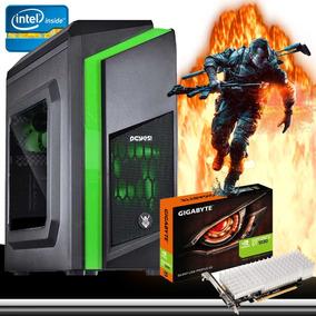 Pc Cpu Gamer Intel / 8gb/ 500gb/ Gt1030 / Wifi/